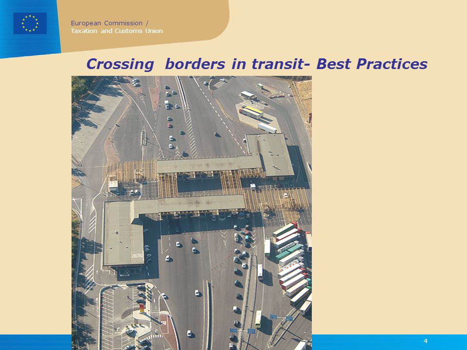 Crossing borders in transit- Best Practices