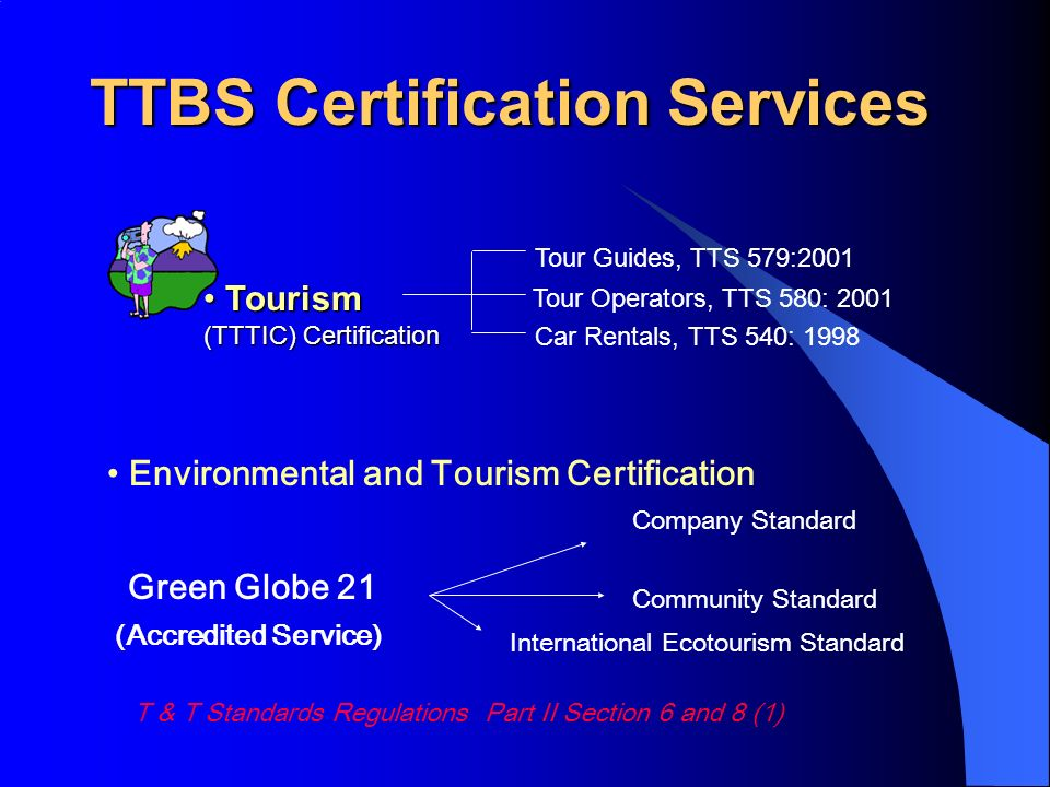 TTBS Certification Services