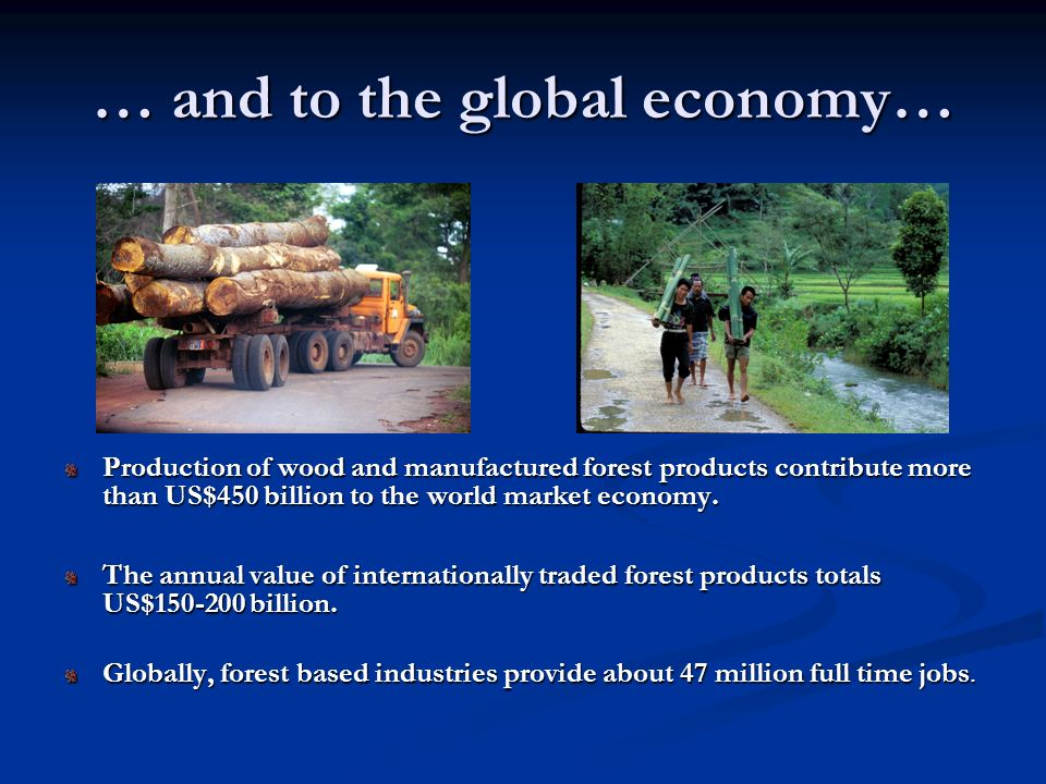 … and to the global economy…