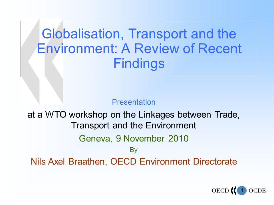 Nils Axel Braathen, OECD Environment Directorate