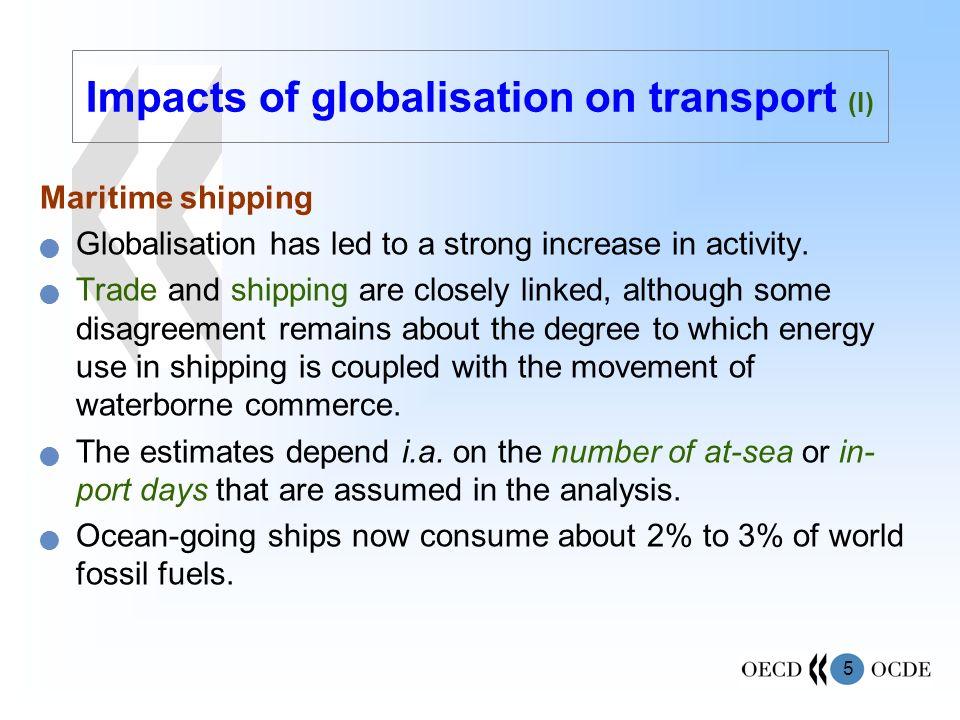 Impacts of globalisation on transport (I)