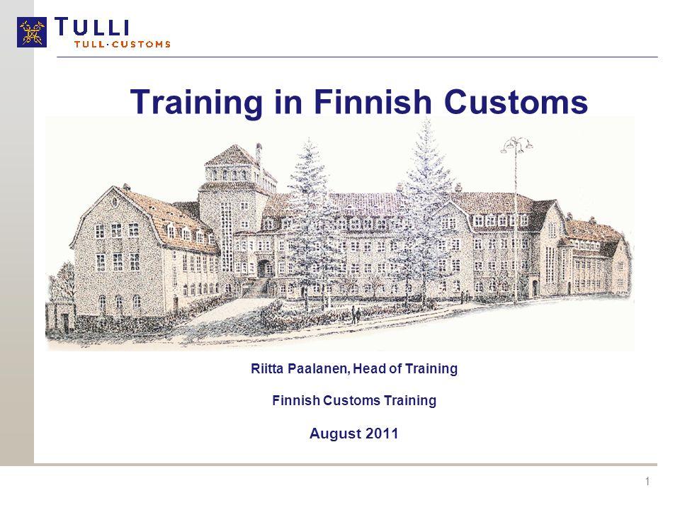 Training in Finnish Customs