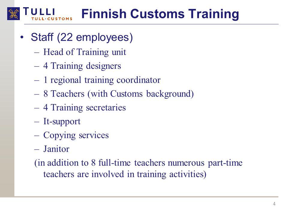 Finnish Customs Training