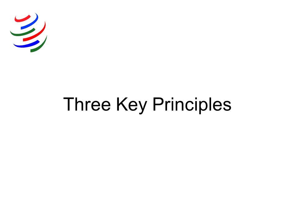 Three Key Principles