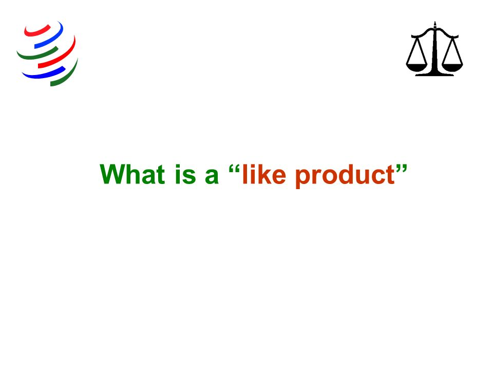 What is a like product