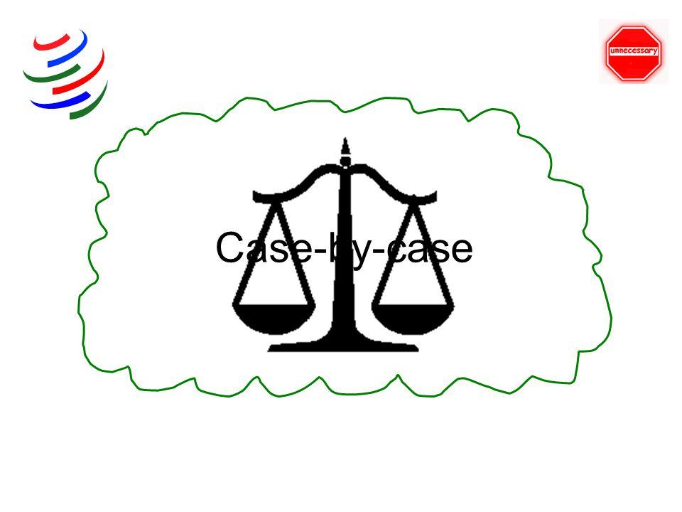 Case-by-case