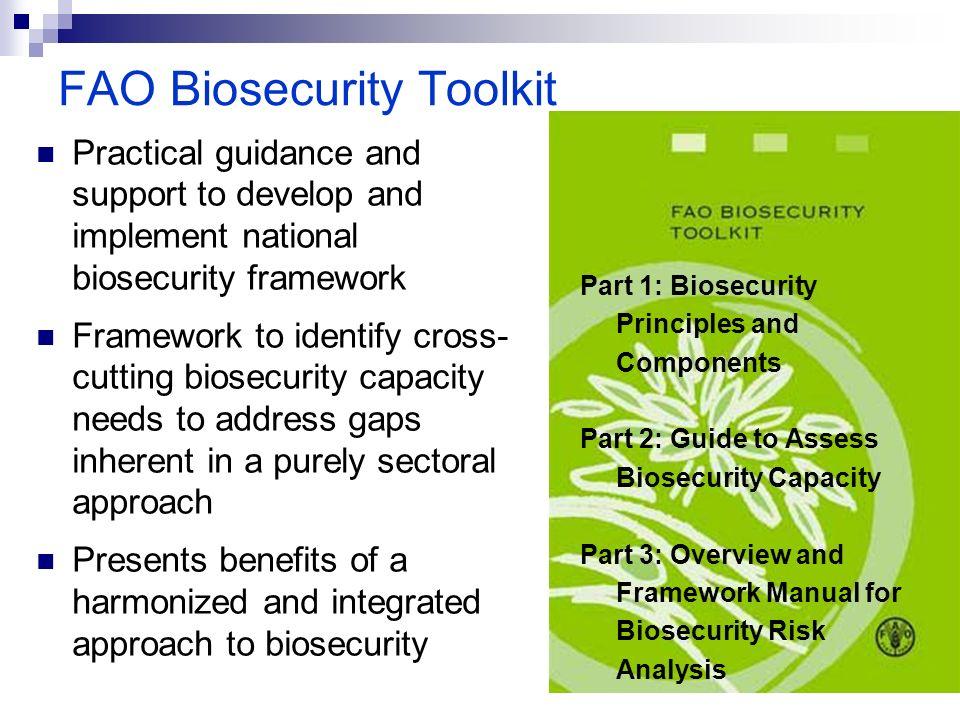 FAO Biosecurity Toolkit