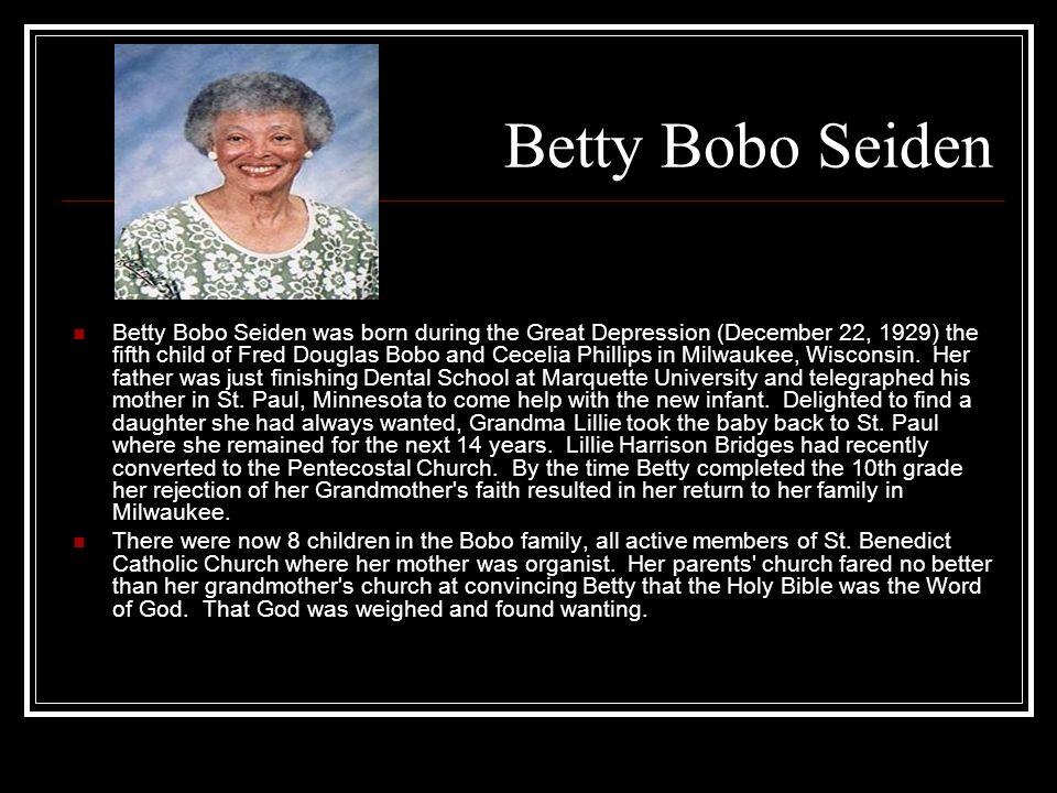 Betty Bobo Seiden