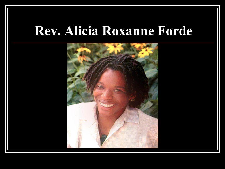 Rev. Alicia Roxanne Forde