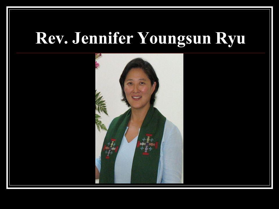 Rev. Jennifer Youngsun Ryu