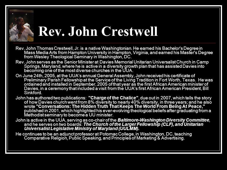 Rev. John Crestwell