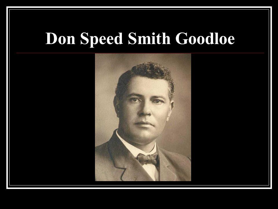 Don Speed Smith Goodloe