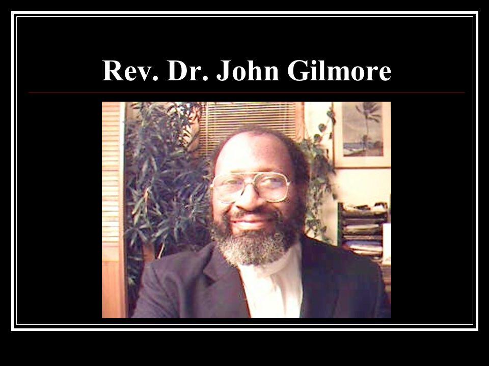 Rev. Dr. John Gilmore