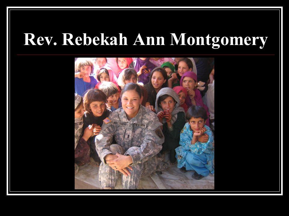 Rev. Rebekah Ann Montgomery