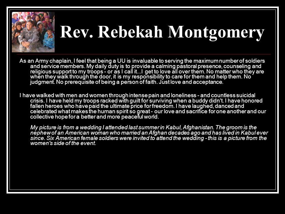 Rev. Rebekah Montgomery