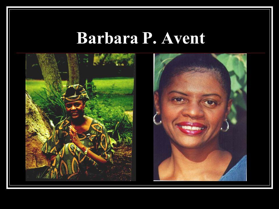 Barbara P. Avent