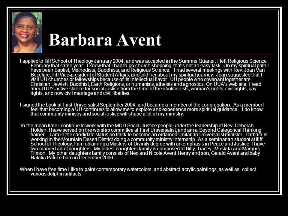 Barbara Avent