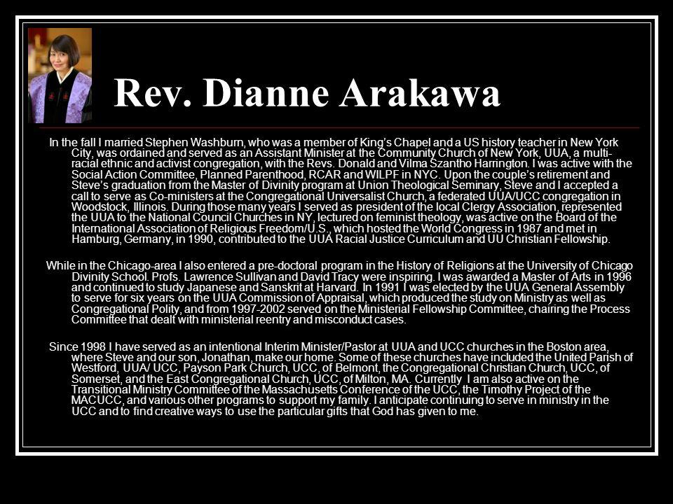Rev. Dianne Arakawa