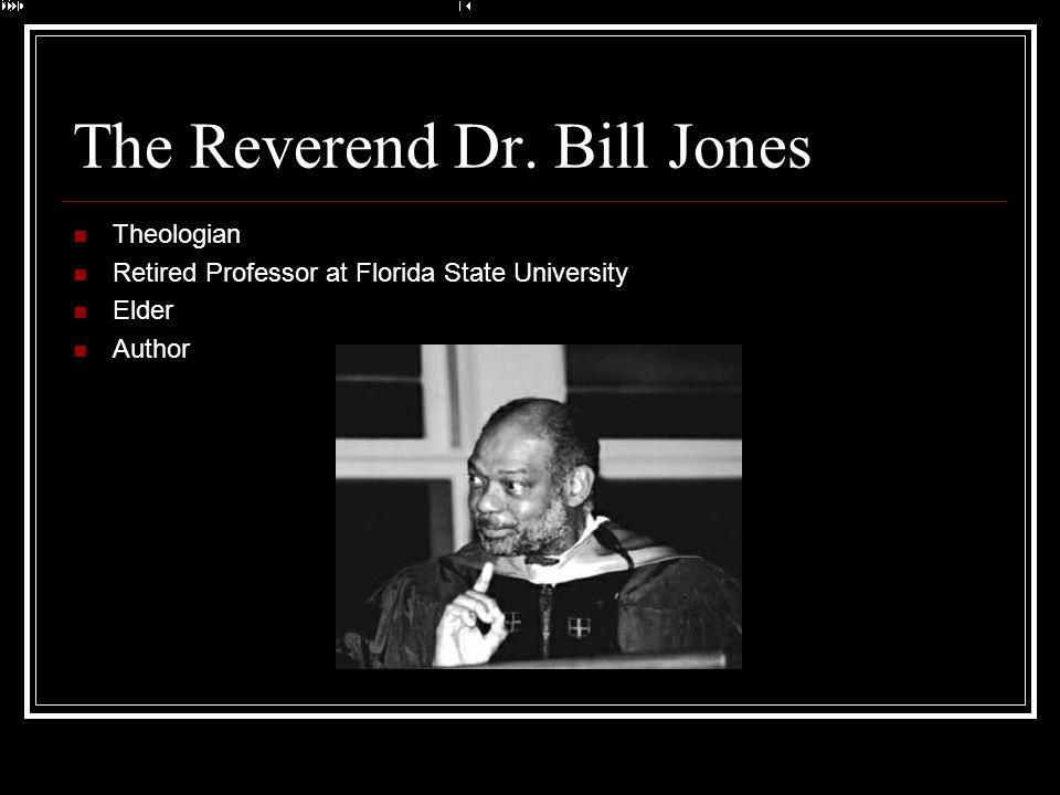 The Reverend Dr. Bill Jones