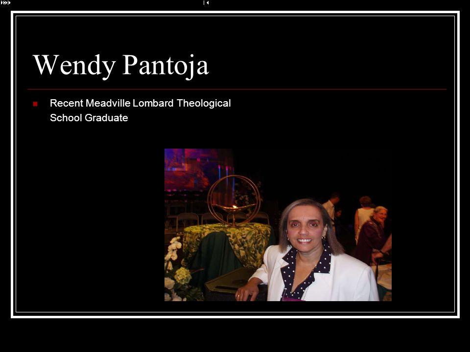 Wendy Pantoja Recent Meadville Lombard Theological School Graduate