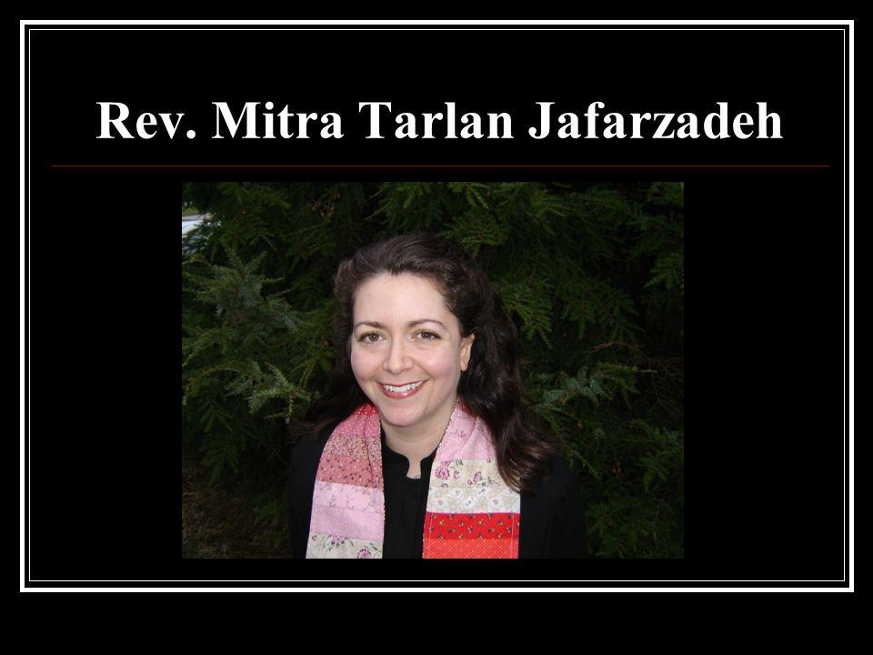 Rev. Mitra Tarlan Jafarzadeh