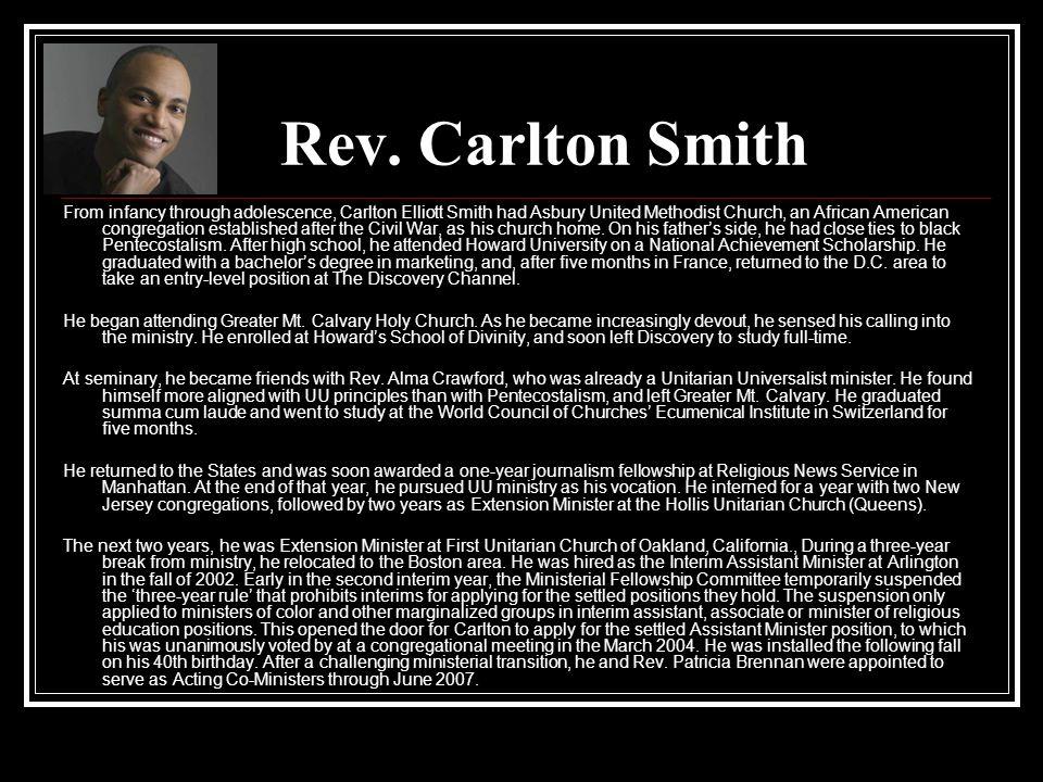 Rev. Carlton Smith