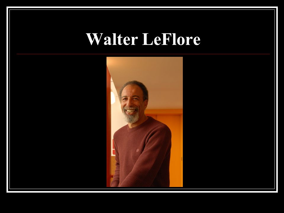 Walter LeFlore