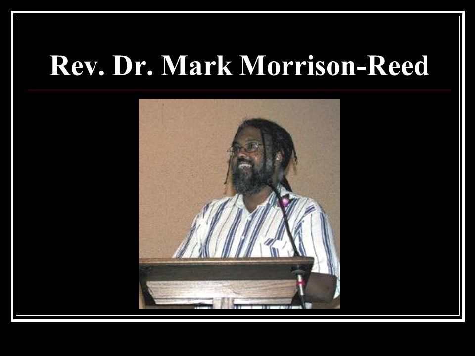 Rev. Dr. Mark Morrison-Reed