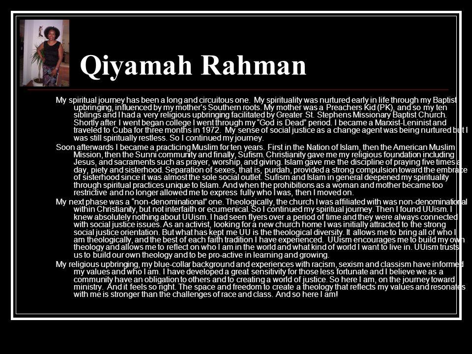 Qiyamah Rahman