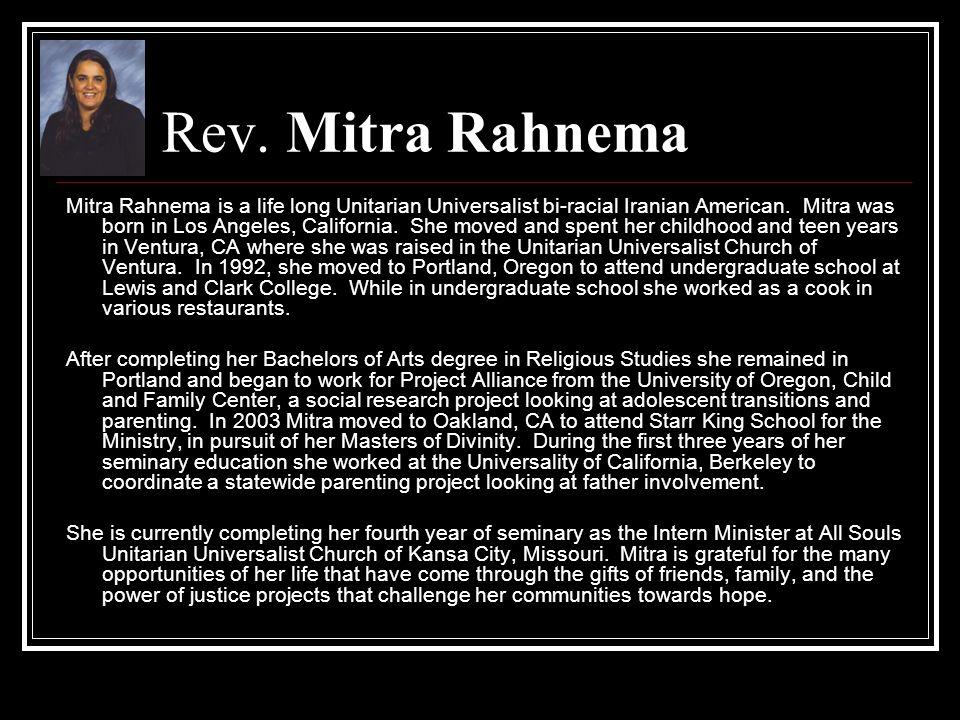 Rev. Mitra Rahnema