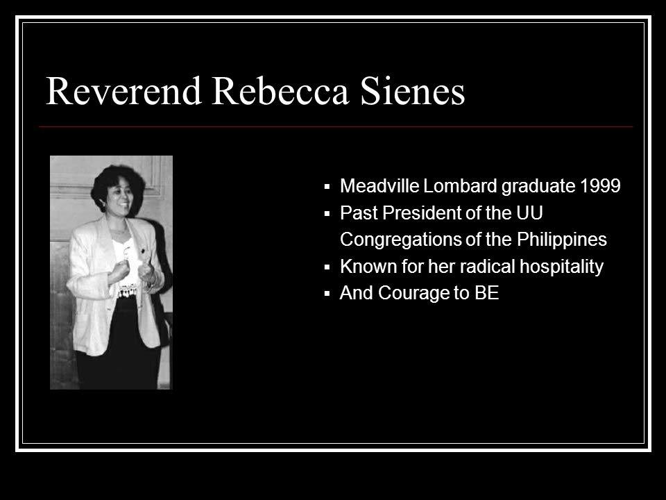 Reverend Rebecca Sienes