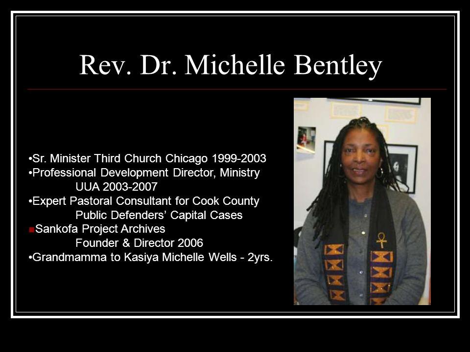 Rev. Dr. Michelle Bentley