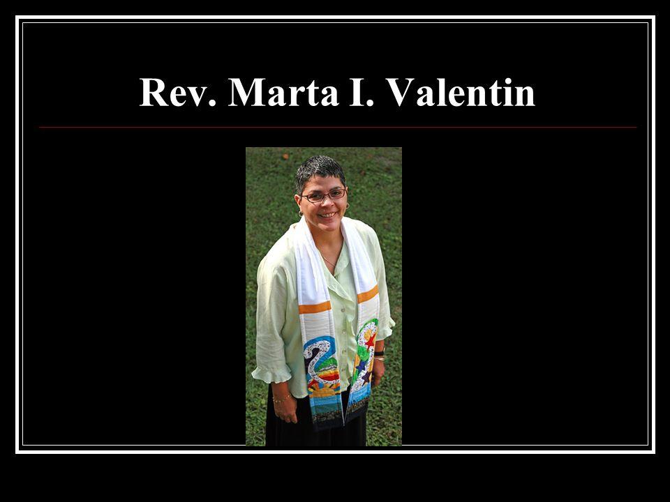 Rev. Marta I. Valentin