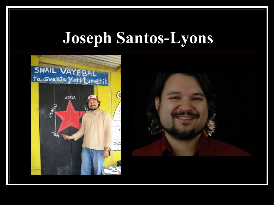 Joseph Santos-Lyons