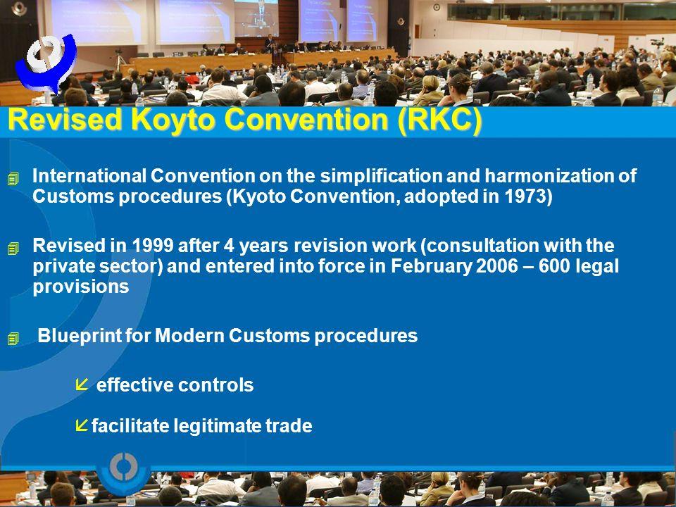 Revised Koyto Convention (RKC)