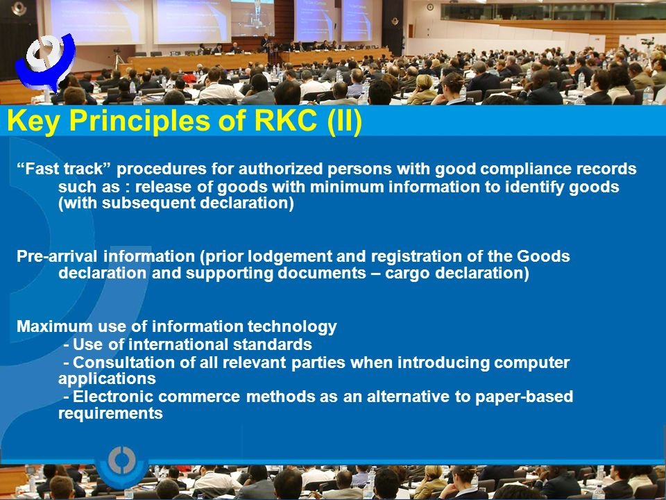 Key Principles of RKC (II)