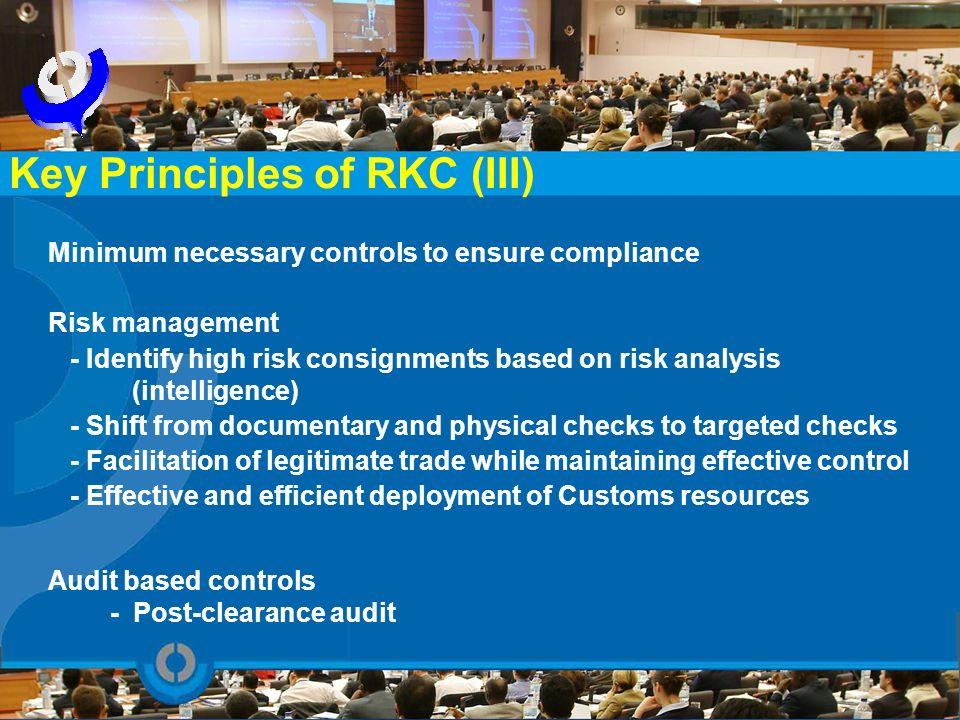 Key Principles of RKC (III)