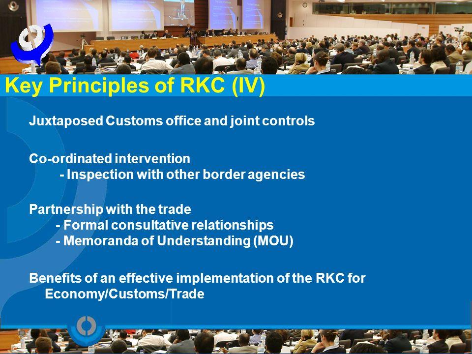 Key Principles of RKC (IV)