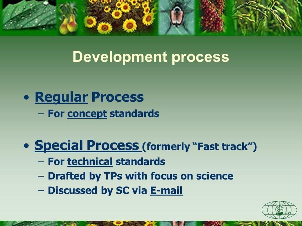 Development process Regular Process