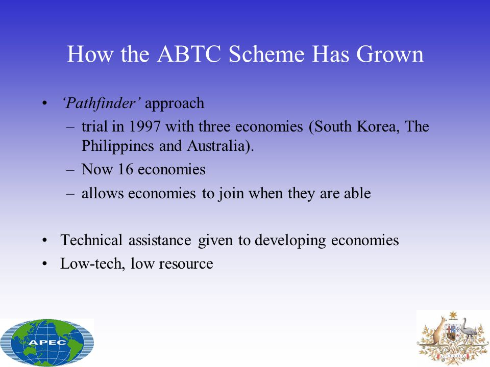 How the ABTC Scheme Has Grown