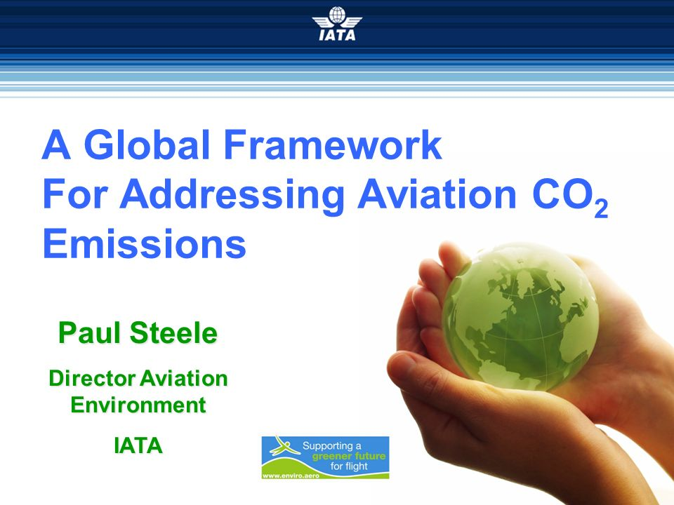 A Global Framework For Addressing Aviation CO2 Emissions