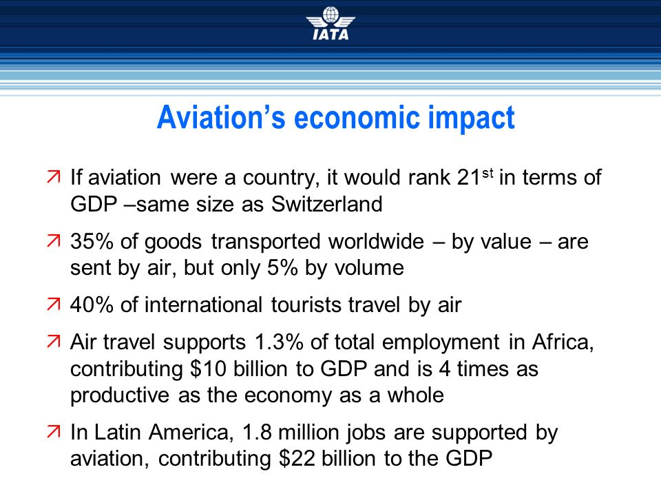 economic impact on aviation industry The impact of deregulation on airports: an international perspectivejournal of aviation/aerospace the results or impacts of deregulation in the ten year period of 1978-1988,the airline industry has gone.