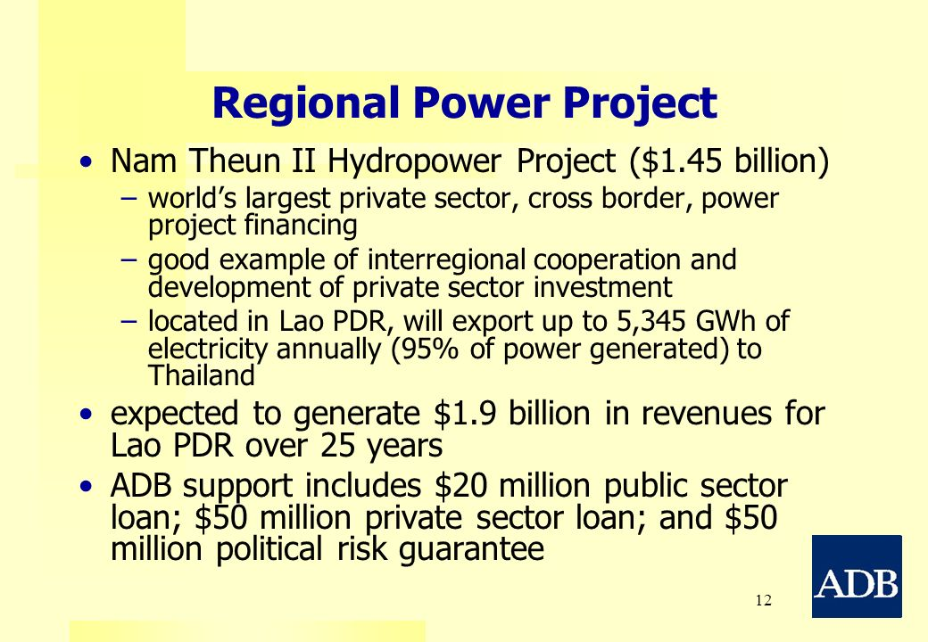 Regional Power Project