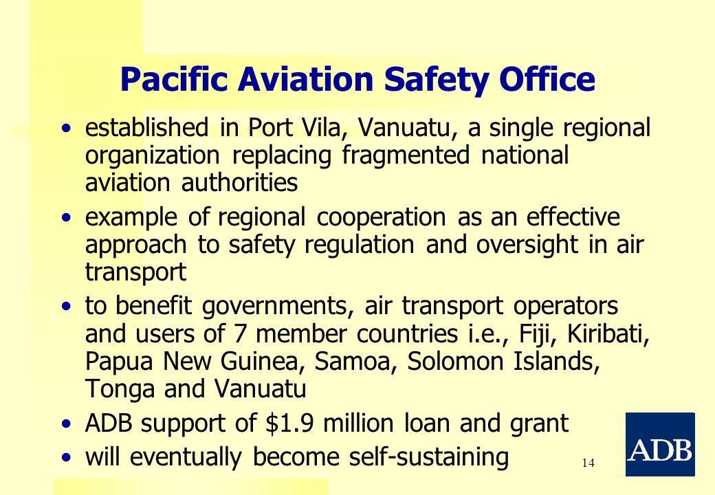 Pacific Aviation Safety Office