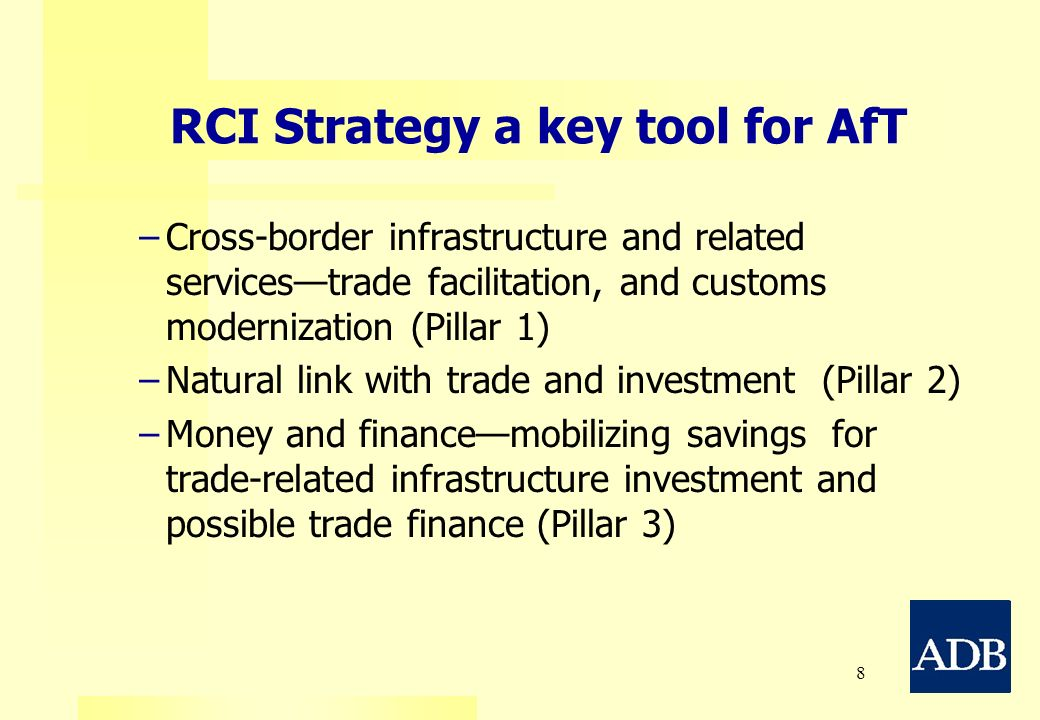 RCI Strategy a key tool for AfT