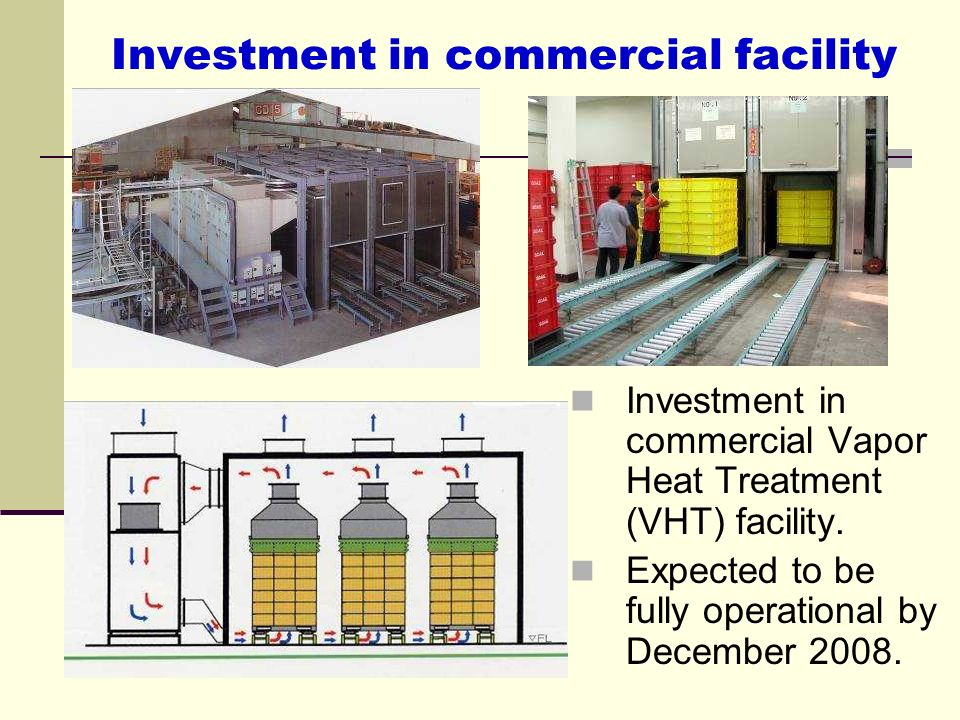 Investment in commercial facility