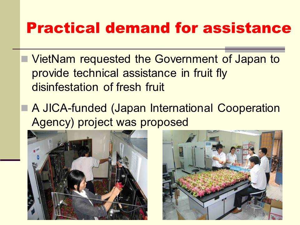 Practical demand for assistance