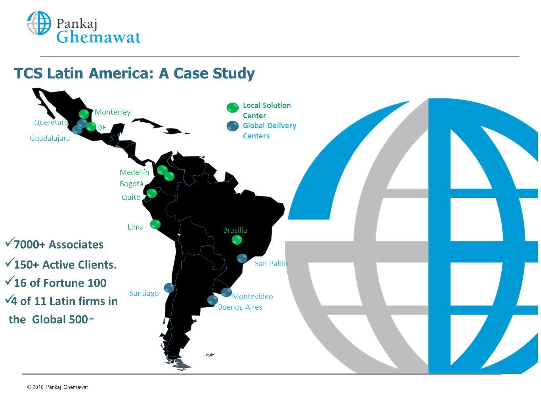 TCS Latin America: A Case Study