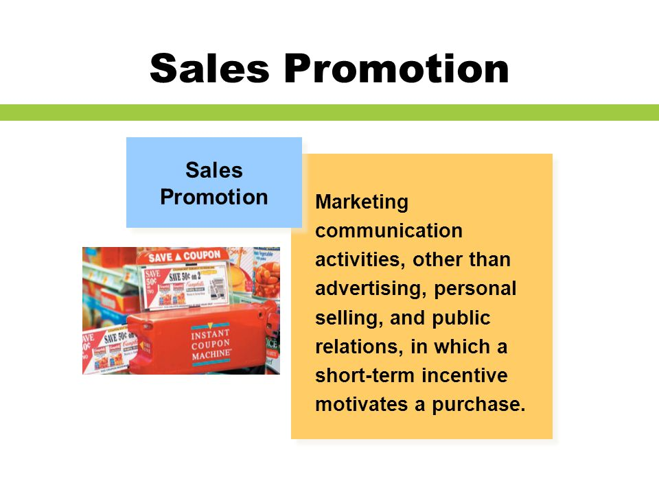Sales promotion and personal selling ppt video online for Short sale marketing