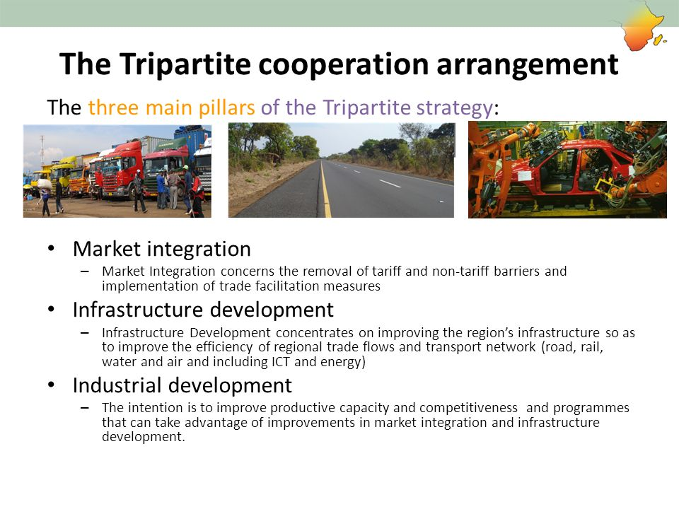 The Tripartite cooperation arrangement